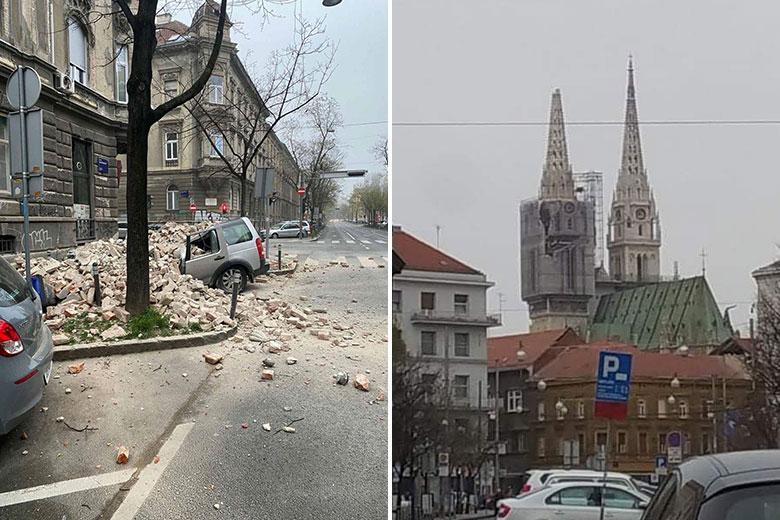 Potres v Zagrebu, 22. marec 2020